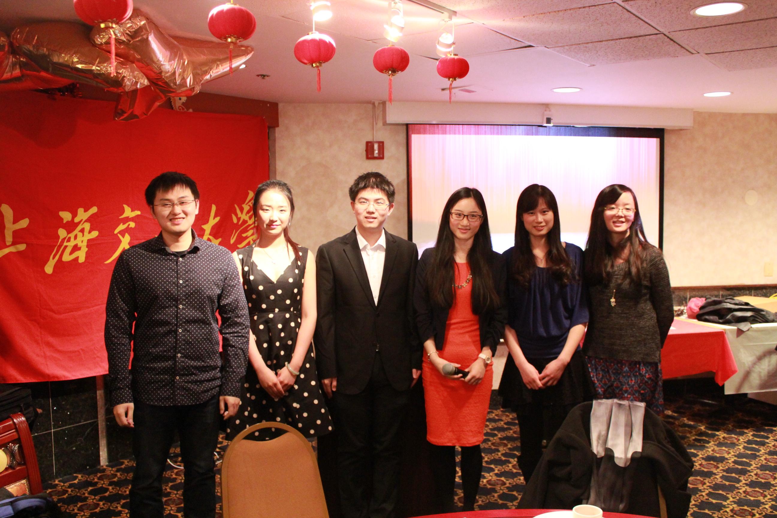 上海交大华盛顿校友会2015春节晚会热烈召开